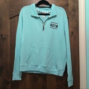 Blue Crew Neck from PINK